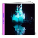 DISNEY CASTLES - 8x8 Photo Book (20 pages)
