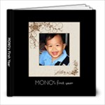 MONO book 1 - 8x8 Photo Book (20 pages)