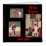 Kales Sports Book 08-09 - 8x8 Photo Book (20 pages)