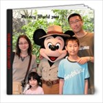 Disney World 2009 - 8x8 Photo Book (20 pages)