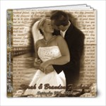 Sarah & Brandon s Wedding - 8x8 Photo Book (30 pages)