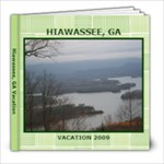Hiawassee Trip - 8x8 Photo Book (20 pages)