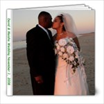 David & Maisha s Wedding - 8x8 Photo Book (20 pages)