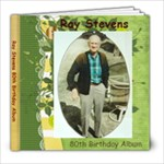 Ray 80th B-day green 20 pg - 8x8 Photo Book (20 pages)