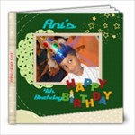 Ani s 4th Birthday - 8x8 Photo Book (20 pages)