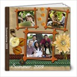 Nature  s Bounty Pretty Summer or Spring Photo Book - 8x8 Photo Book (20 pages)