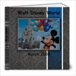 2009 Disney  - 8x8 Photo Book (20 pages)