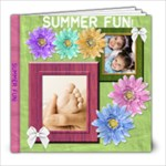 Summer is Fun Sample Book - 8x8 Photo Book (20 pages)
