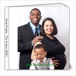 Green Family book - 8x8 Photo Book (20 pages)
