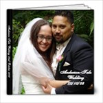 Anderson-Tule Wedding - 8x8 Photo Book (20 pages)