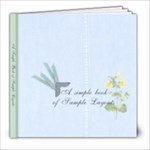Little Book of Sample Pages - AmyJo - 8x8 Photo Book (100 pages)