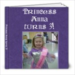 Princess - 8x8 Photo Book (20 pages)