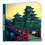 Japan book - 8x8 Photo Book (20 pages)