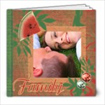 Melon Berry Swirl Photo Book - 8x8 Photo Book (20 pages)