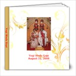 Wedding Album for India - 8x8 Photo Book (20 pages)