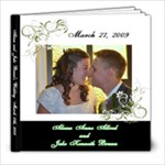 Aleesa and Jake Brunn s Wedding - 8x8 Photo Book (20 pages)