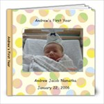 Andrew First Book - 8x8 Photo Book (20 pages)
