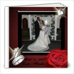 My Wedding - 8x8 Photo Book (20 pages)