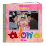 Alona grows every month  - 8x8 Photo Book (20 pages)