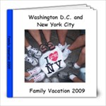 Family Vacation - 8x8 Photo Book (20 pages)
