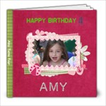 amy party 4 - 8x8 Photo Book (20 pages)