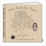 Cheyenne Family Tree Book - 8x8 Photo Book (20 pages)