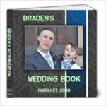 Braden s Wedding Book - 8x8 Photo Book (20 pages)