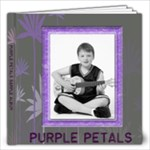 Purple Petals Quickpage Album - 12x12 Photo Book (20 pages)