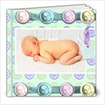 sweet baby megas & add on frame quick page book - 8x8 Photo Book (20 pages)
