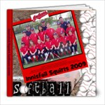 squirts softball 2009 yearbook 8x8 - 8x8 Photo Book (20 pages)