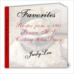 Favorites from the Kitchen of Judianne - 8x8 Photo Book (39 pages)