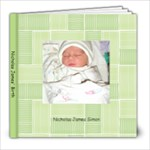 Nicholas James - 8x8 Photo Book (20 pages)