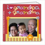 G & Grandparents - 8x8 Photo Book (20 pages)