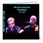 Billy Joel & Elton John - 8x8 Photo Book (20 pages)