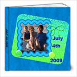 FORTH OF JULY 2009 - 8x8 Photo Book (20 pages)