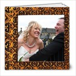 Golden Frames Quickbook  COPY ME FOR A FAST ALBUM - 8x8 Photo Book (20 pages)