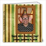 Pops 80th Surprise Party - 8x8 Photo Book (20 pages)