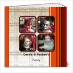 darc Reuben & Family - 8x8 Photo Book (20 pages)