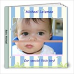 Baby Michael - 8x8 Photo Book (20 pages)