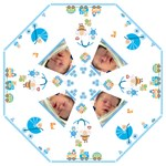 Cute as a Button Baby Shower Umbrella - Folding Umbrella