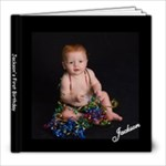 Jackson s first birthday - 8x8 Photo Book (39 pages)