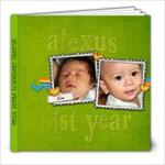 Alexus First Year - 8x8 Photo Book (20 pages)