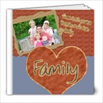 family mega kit sample book - 8x8 Photo Book (20 pages)