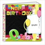 quisha s 2nd birthday - 8x8 Photo Book (20 pages)