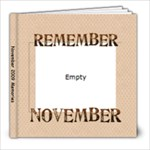 November Basiletti Book - 8x8 Photo Book (20 pages)
