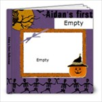 Aidansfirsthalloween - 8x8 Photo Book (20 pages)