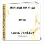 Dance Company 2009-2010 - 8x8 Photo Book (20 pages)