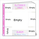 Eliyanas first album - 8x8 Photo Book (20 pages)