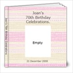 Joan s 70th Birthday - 8x8 Photo Book (20 pages)