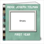 Ridge s 1st - 8x8 Photo Book (20 pages)